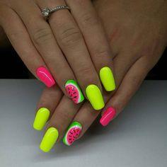 Manicure, Gel Nails, Short Nails, Summer Nails, Nailart, Beauty, Finger Nails, Nail Bar, Nail Gel