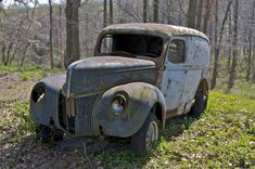 old+abandoned+cars+trucks+and+trains   Amazing Find Gallery: Abandoned Trucks and Cars in the Pennsylvania ...
