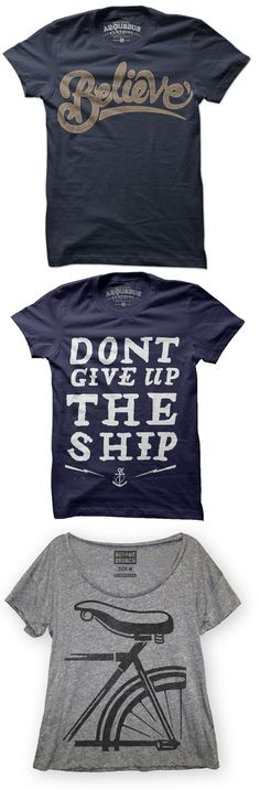 Cool and Inspiration Tees!