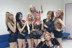 SNSD PARTY #1 on all music programs last week : Taeyeon, Sunny, Tiffany, Hyoyeon, Yuri, Sooyoung, Yoona and Seohyun