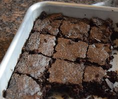 Oh joy! These chocolate brownies are as good as I've ever made, yet are easy and downright healthy...