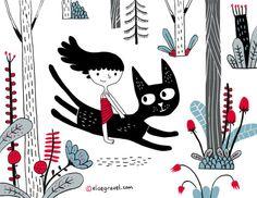Une illustration d'Élise Gravel, http://elisegravel.com/