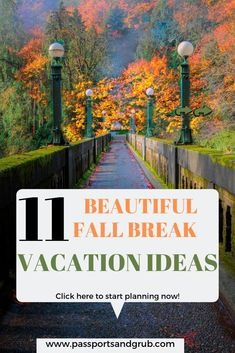 11 Unbelievable Fall Vacation Getaways No one Talks About Updated 2019 Top Family Vacations, Vacations In The Us, Fall Vacations, Romantic Vacations, Romantic Getaways, Family Trips, Family Getaways, Family Travel, Solo Vacation