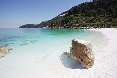Marble beach, Thassos