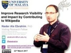 Improve Research Visibility and Impact by Contributing to Wikipedia
