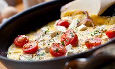 Frittata veloce ed estiva con pomodorini ed erbe dell'orto! | Cambio cuoco