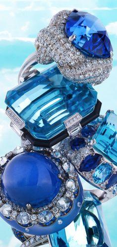 @PinFantasy - Blue ~~ For more:  - ✯ http://www.pinterest.com/PinFantasy/color-~-azul-blue/