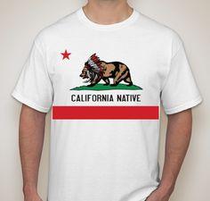 wanted O.G. California Native's T-Shirt Fun-draiser - unisex shirt design - front
