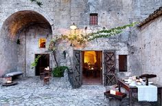Polignano has to be one of Italy's best kept secrets. What an amazing little town and the restaurant in a cave is unforgettable. Look at these photos...