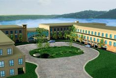 Warwick, New York, USA - Artist conception of the new headquarters.
