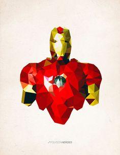 Super heros Cubism