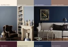 Inner space color palette is gorge! Bedroom Color Schemes, Bedroom Colors, Bedroom Decor, Bedroom Ideas, Wall Colors, House Colors, Paint Colors, Living Room Inspiration, Color Inspiration