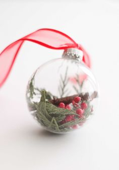 DIY Botanical Ornament | The Crafted Life