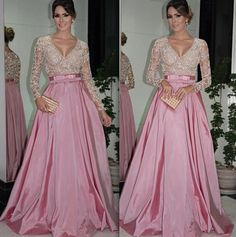 pink gown by Cyntia Fontanella