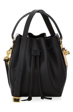 Sophie Hulme 'Small' Drawstring Leather Crossbody Bag available at #Nordstrom