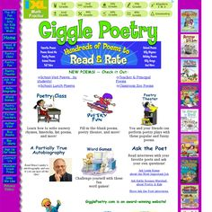 Website 'http://www.poetry4kids.com/categories' snapped on Snapito ...