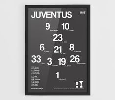 Juventus FC 2014-2015 Football team squad typographics by NazarDes Champions League  Soccer Poster  Berlin 2015  Gianluigi Buffon  Carlos Tevez Andrea Pirlo Poster  Arturo Vidal  Paul Pogba  Serie A  Claudio Marchisio  Giorgio Chiellini  Alvaro Morata