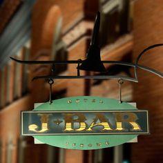 J Bar, Hotel Jerome, Aspen  hoteljerome.aubergeresorts.com