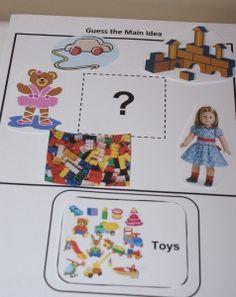 Teaching Main Idea in 1st grade