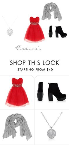 """""""Cadenza's Dress"""" by millenrocks ❤ liked on Polyvore featuring Dorothy Perkins, Samantha Holmes and Anne Sisteron"""