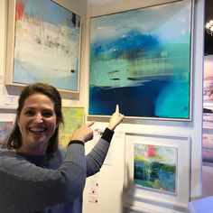 I was so chuffed when the fabulous Alice Sheridan visited my stand at Bath Art Fair last week and chose to give my painting 'Strandline' a new home. Bath Art, Stand By Me, Art Fair, Give It To Me, Alice, Polaroid Film, Journal, Painting, Instagram