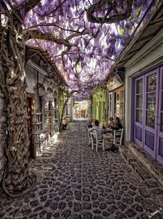 Molyvos, Lesvos, Greece. I really need to go to Greece some day.
