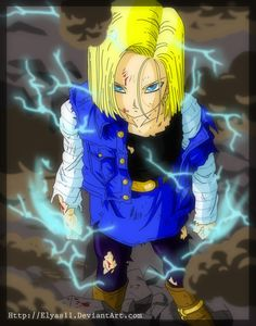 Future Android 18- by Elyas11 on DeviantArt