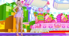 Tentacio @ Crystal Heart Festival SLB13 Free Gifts http://thegoodgorean.blogspot.com/2016/07/pixelated-pinks.html