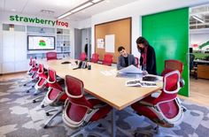 Strawberry Frog's Office