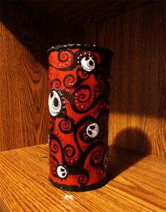 Day of the Dead Nightmare Before Christmas Jack Valentine Vase