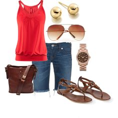 summer, created by hedufed on Polyvore