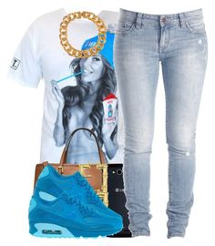"""""""blu"""" by polyvoreitems5 ❤ liked on Polyvore featuring мода, Michael Kors, Lee и NIKE"""