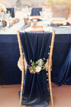Chair Accessories For Weddings Childrens Table And Chairs Toys R Us 25 Best Images In 2019 Linen Rentals Events Luxurious Navy Gold Wedding Inspiration At Ranch The Canyons