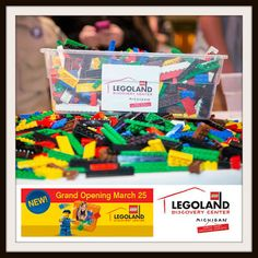 LEGOLAND® Discovery Center Michigan opens March 25th!! Enter to win a 4 Pack of Tickets! #Giveaway Ends 3/18  http://couponsavvysarah.blogspot.com/2016/03/legoland-discovery-center-michigan.html
