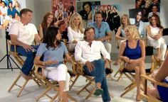 The Melrose Place cast reunites. Good Morning America's Amy Robach - who has a special connection to the cast - caught up with them during a shoot for Entertainment Weekly magazine.    Watch the video now: http://abcn.ws/SNywGy