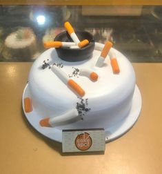Beautiful Cake Designs, Beautiful Cakes, Amazing Cakes, Happy Bday Cake, Cute Birthday Cakes, Happy Birthday Cartoon Images, Cigarette Cake, Orchid Cake, Online Cake Delivery