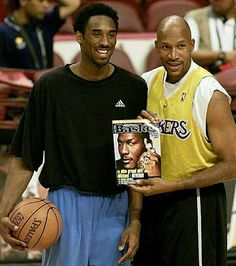Kobe Bryant and Ron Happer