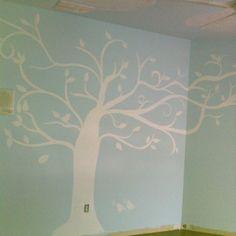 Painted in a teenage girls room.
