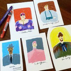 """ #illust #illustrator #illustrations #drawing #doodle #calligraphy #프리다칼로 #fridacalo #일러스트레이터 #일러스트 #일러스트레이터 #드로잉 #두들 #캘리그라피 #토요일 #saturday #product #초상화…"""