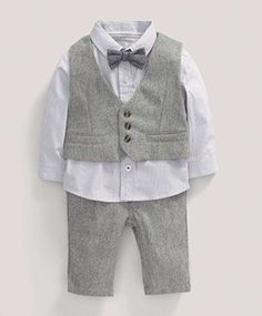 Shop for Baby-Boys 4 Piece Wool Waistcoat Clothing Set by Mamas and Papas at ShopStyle. Now for Sold Out.