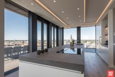 Penthouse with luxury interior, located in The Hague. The very versatile Martin van Essen Kitchens & Interiors has provided the … Luxury Kitchen Design, Kitchen Room Design, Luxury Kitchens, Kitchen Interior, Made Design, Küchen Design, House Design, Interior Exterior, Luxury Interior
