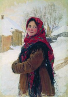 Fedor Sychkov, peasant girl