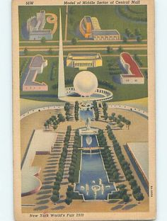 1939 postcard WORLD FAIR New York City NY HM9593 in Collectibles, Postcards, US States, Cities & Towns | eBay