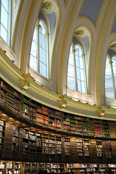 The Old Reading Room at the British Museum. This book collection moved to the magnificent British Library many years ago.