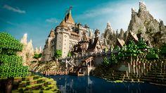 minecraft-castle-