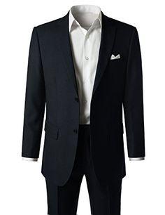 95ba08c396 MONDAYSUIT Men s Modern Fit 2-Piece Suit Blazer Jacket Tux Vest   Trousers  Set. mazqoty
