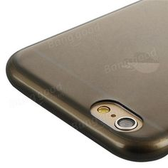 BASEUS 0.7mm Ultrathin Soft TPU Back Cover Case For Apple iPhone 6 6S 6 Plus 6S Plus Sale - Banggood.com