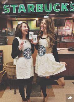 // Starbucks Costume //