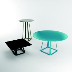 system stoąĘw i stolikĘw Design Awards, Furniture Design, Table, Home Decor, Decor Ideas, Top, Living Room, Decoration Home, Room Decor