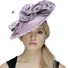 NIGEL RAYMENT LILAC ASCOT FASCINATOR WEDDING OCCASION MOTHER OF THE BRIDE HAT | eBay